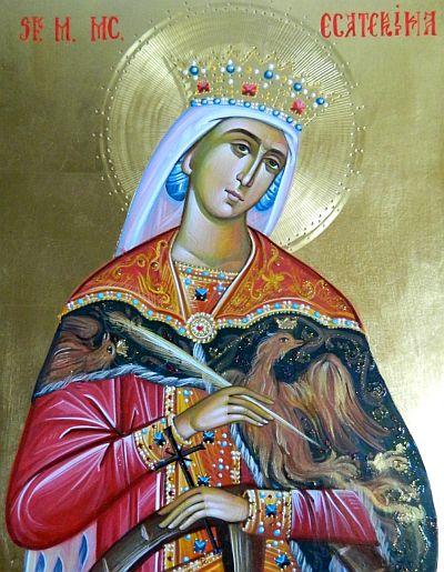 Rugăciune către Sfânta Muceniţă Ecaterina