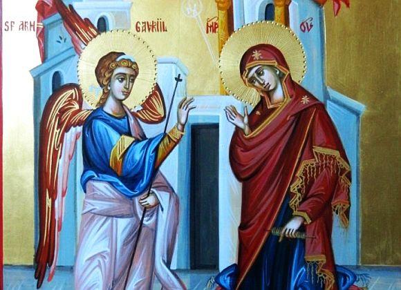Bunavestire (25 martie) – o zi de bucurie pentru toți creștinii