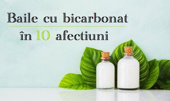 Bai cu bicarbonat in 10 afectiuni