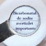 Bicarbonat de sodiu avertizari