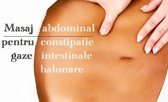 Masaj abdominal pentru constipatie