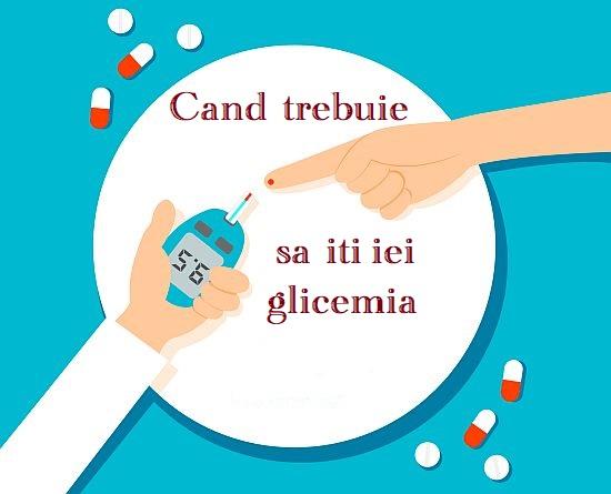 Cand trebuie sa iti iei glicemia