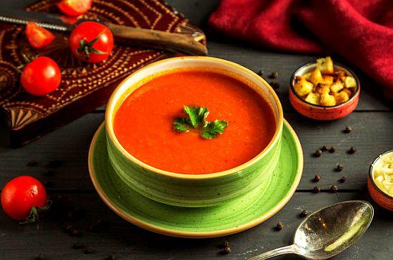 Supa rustica de rosii