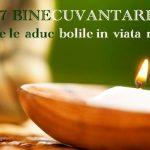 7 binecuvantari ale bolilor