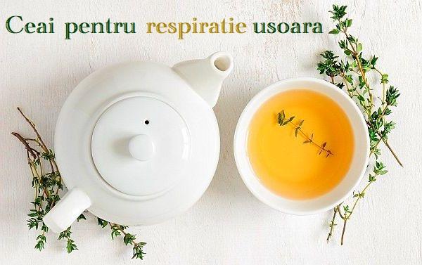 Ceai pentru respiratie