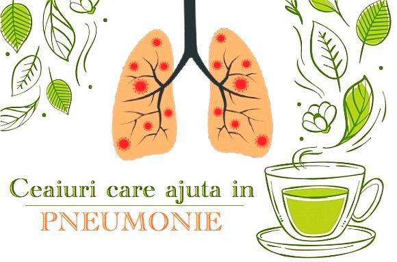 Ceaiuri pentru pneumonie