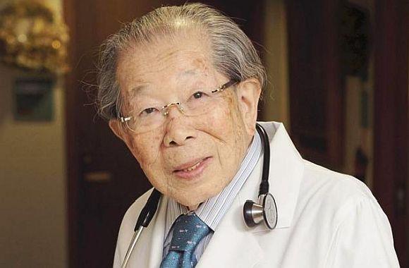 Dr. Shigeaki Hinohara cel mai longeviv medic din lume