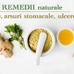 Remedii arsuri stomacale, gaze, ulcer
