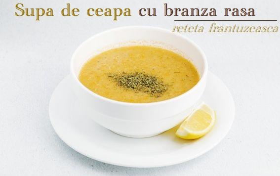Supa de ceapa si branza rasa