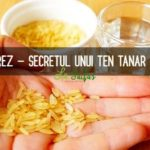 Apa de orez pentru ten