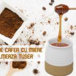 Cafea cu miere pentru tuse