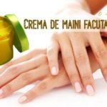Crema de maini facuta in casa