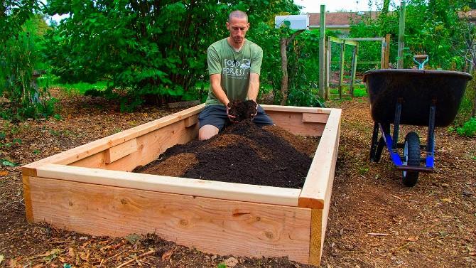 Gradina paturi de legume