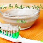 Pasta de dinti cu argila reteta