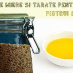 Pasta de miere si tarate pentru pete si pistrui