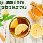 Patrunjel, lamaie si miere pentru colesterol