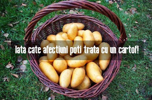 Cate afectiuni poti trata cu un cartof