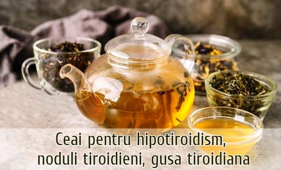 Ceai pentru tiroida