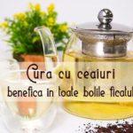 Cura cu ceaiuri pentru ficat