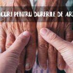 Remedii artroza