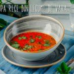 Supa rece din legume de sezon