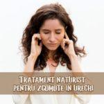 Tratament naturist pentru zgomote in urechi