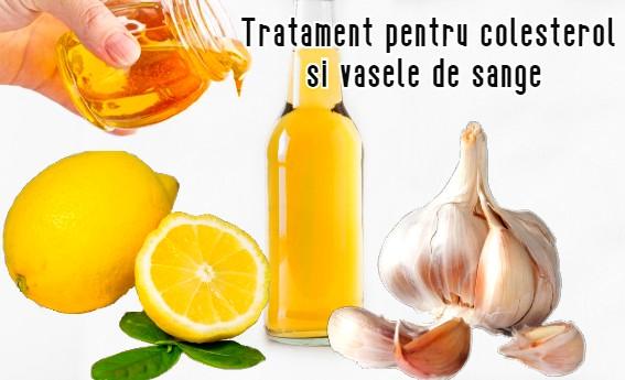 Tratament pentru colesterol si vasele de sange