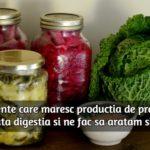 Alimente pentru sanatatea intestinala si digestiva