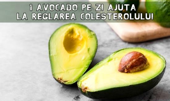 Avocado ajuta la reglarea colesterolului