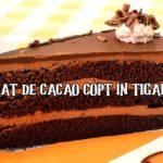 Blat de cacao copt in tigaie