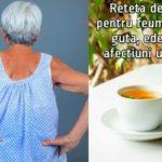 Ceai pentru reumatism, guta, edeme