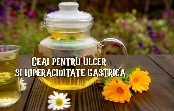 Ceai pentru ulcer si hiperaciditate gastrica