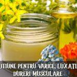 Lotiune pentru varice si dureri musculare