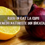 Rosu in gat remedii naturiste