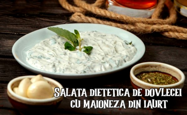 Salata de dovlecei cu maioneza din iaurt
