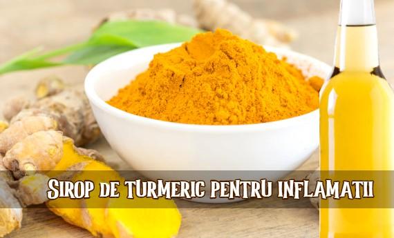Sirop de turmeric pentru inflamatii