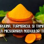 Spirulina turmericul si tamaia micsoreaza nodulii tiroidieni