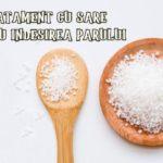 Tratament cu sare pentru cresterea parului