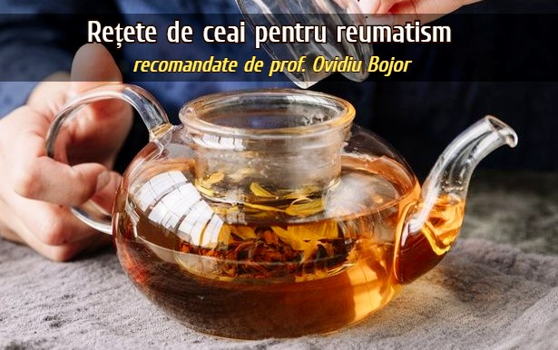 Ceaiuri pentru reumatism
