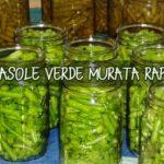 Fasole verde murata