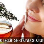 Tonic facial din ceai verde si otet
