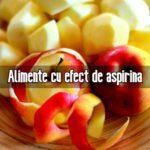 Alimente cu efect de aspirina