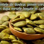 Semintele de dovleac scad glicemia