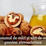 ulei de nuci pentru inima si artere