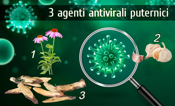 3 agenti antivirali puternici