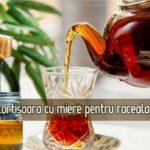 Ceai de scortisoara si miere pentru raceala si digestie