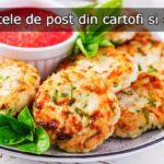 Chiftele de post din cartofi si orez