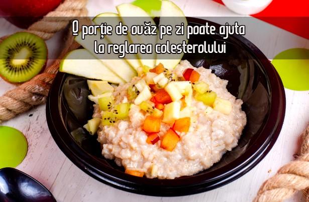 O porție de ovăz pe zi poate ajuta la reglarea colesterolului