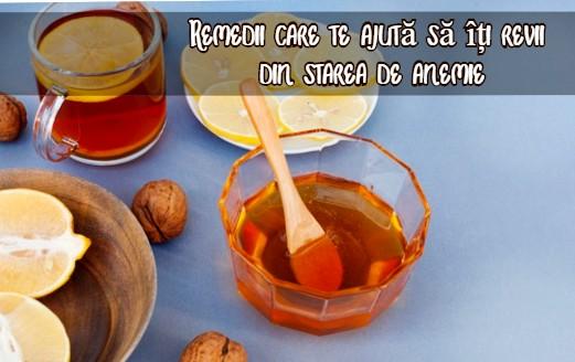Remedii pentru anemie