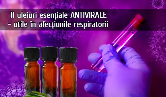 Uleiuri esentiale antivirale